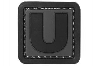 "101 Inc PVC Velcro Patch ""U"""
