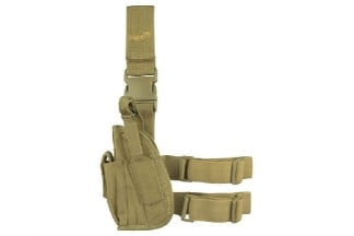 Viper Pistol Drop Leg Holster Left Hand (Coyote Tan)
