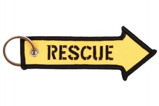 "101 Inc Key Chain ""Rescue"""