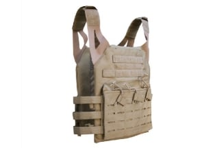 Viper Laser MOLLE Special Ops Plate Carrier (Coyote Tan)
