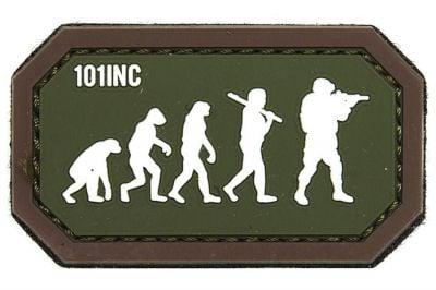 "101 Inc PVC Velcro Patch ""Airsoft Evolution"""