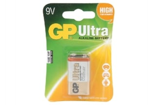 GP Ultra Alkaline Battery PP3 9v