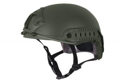 Viper Fast Ballistic Style Helmet (Olive)