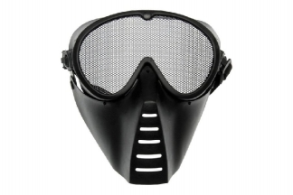 ASG Mesh Full Face Mask (Black)