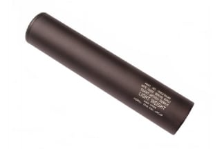King Arms Lightweight Silencer 14mm CCW 200 x 40mm