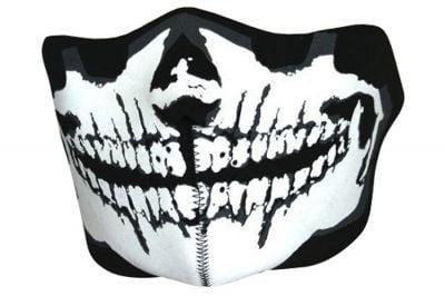 Viper 'Skull' Neoprene Half Face Mask