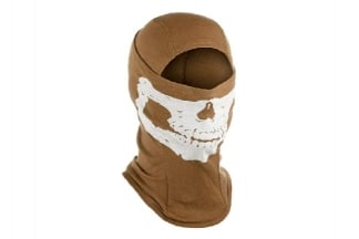Invader Gear Skull Balaclava (Coyote Brown)