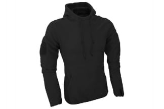 Viper Fleece Hoodie (Black) - Size Medium