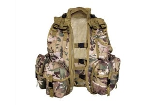 Highlander Kids Assault Vest (MultiCam)