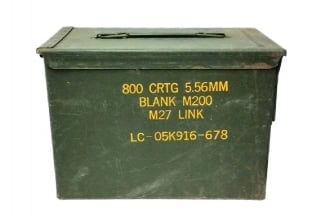 Ammo Box for 5.56mm (Genuine Used)