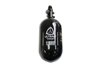 ASG Ultrair 1.1L/68ci 4500psi Carbon HPA Tank with Regulator