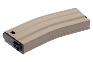 G&G AEG Mag for M4 125rds (Tan)