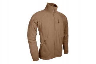 Viper Special Ops Fleece Jacket (Coyote Tan) - Size Medium