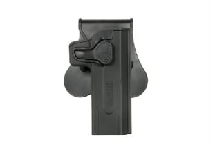 Amomax Rigid Polymer Holster for Hi-Capa (Black)