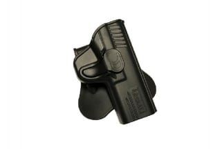 Amomax Rigid Polymer Holster for M&P9 (Black)