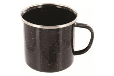 Highlander Deluxe Enamel Mug (Black)