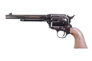 King Arms Gas SAA .45 Peacemaker Revolver M (Black)