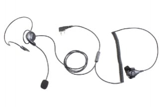Retevis Radio Headset with Finger PTT