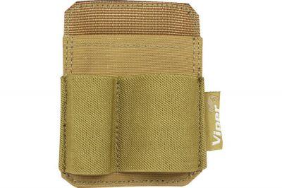 Viper Velcro Accessory Holder Patch (Coyote Tan)