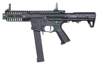 G&G Combat Machine AEG ARP 9 Super Ranger Jade with ETU (Black/Green)