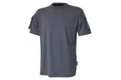 Viper Tactical T-Shirt Titanium (Grey) - Size Small