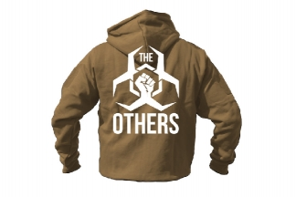 Daft Donkey Special Edition NAF 2018 'The Others' Viper Zipped Hoodie (Coyote Tan)