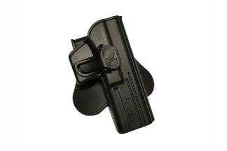 Amomax Rigid Polymer Holster for GK17 (Black)