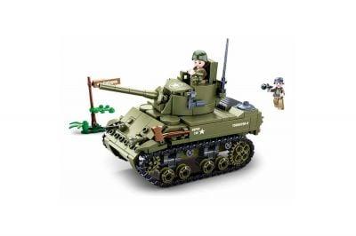 Sluban Allied Light Tank Set (M38-B08056)