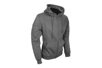 Viper Tactical Zipped Hoodie Titanium (Grey) - Size Large