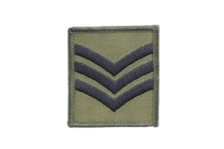 Helmet Rank Patch - Sgt (Subdued)