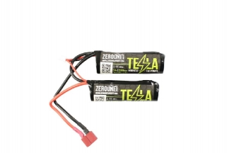 Zero One 7.4v 2500mAh 15C Li-Ion Nunchuck Battery