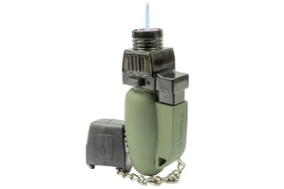 Highlander Turboflame Lighter (Olive)