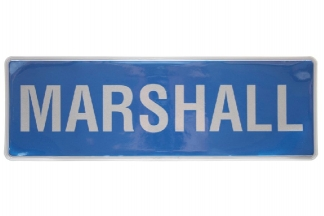 *Clearance* Reflective Marshall Badge Large