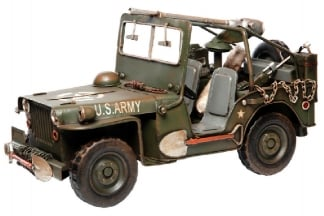 "101 Inc Metal Model ""Willys Jeep"""