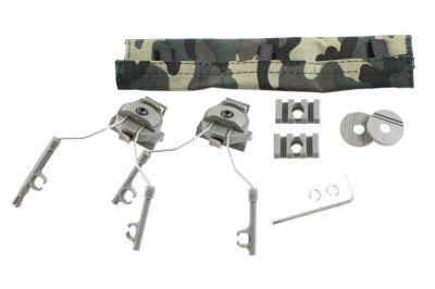 Z-Tactical Helmet Rail Adapter Set (Olive)