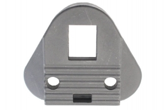 G&G Triangle End Plate for Crane Stock (Black)