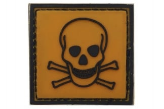 "101 Inc PVC Velcro Patch ""Toxic"""