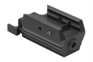 NCS Low Profile Red Laser for 20mm RIS & Pistol Rails