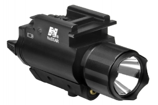 NCS Fully Integrated Laser & Flashlight Combo Unit