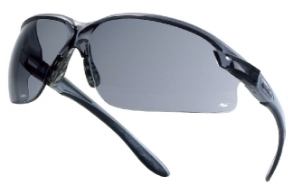 Bollé Protection Glasses Axis with Black Frame and Smoke Lens