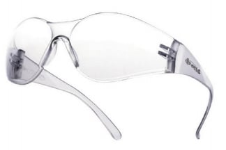 Bollé Protection Glasses Bandido with Clear Frame and Clear Lens