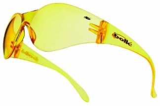 Bollé Protection Glasses Bandido with Yellow Frame and Yellow Lens