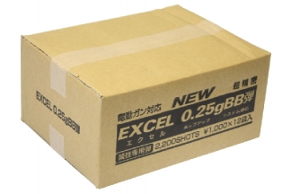 Excel BB 0.25g 2200rds Box of 12 (Bundle)