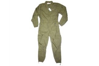 Mil-Force Tanker Overalls (Olive) - Size Extra Large