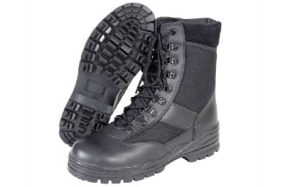Mil-Com Patrol Boots (Black) - Size 10