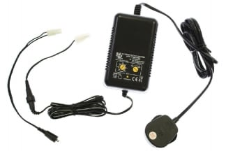 Zero One NiMH/NiCD Fast/Trickle Charger with Dual Plug & Discharger