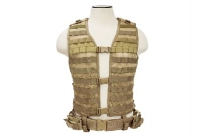 NCS VISM MOLLE Base Vest (Tan)
