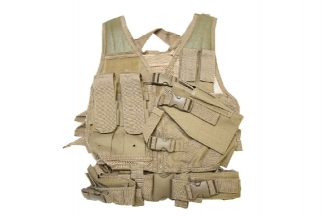 NCS VISM Kids Tactical Vest (Tan)