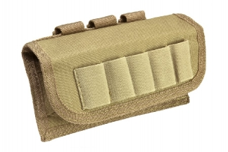 NCS VISM MOLLE Tactical Shotgun Shell Pouch (Tan)
