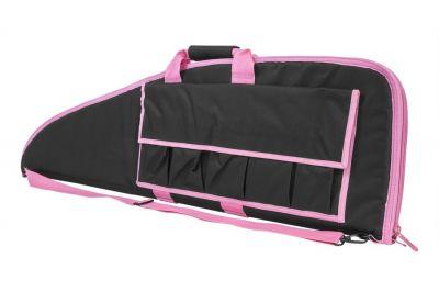 "NCS VISM Rifle Case 36"" (Black with Pink Trim)"